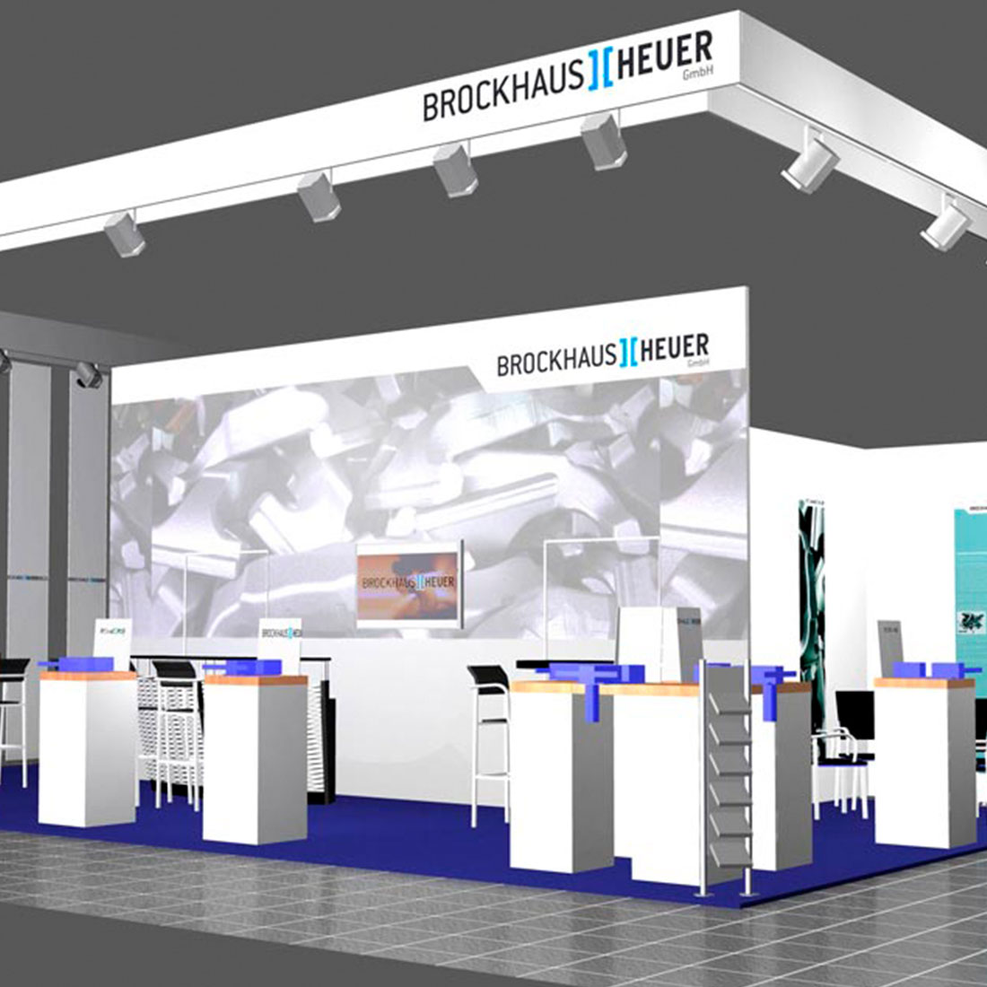 Brockhaus Heuer Messestand 3D Animation